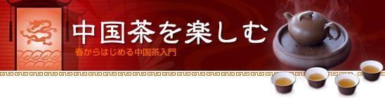 中国茶を楽しむ 春からはじめる中国茶入門